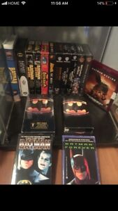 Vintage Batman vhs collection