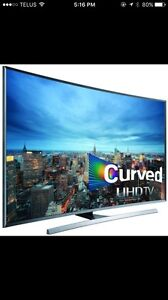55 inch UHD curved TV 4K