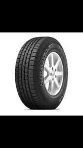 4 tires 275-55-R17 Goodyear wranglers