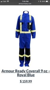 Two pairs of Armour ready Coveralls