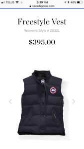 Looking for a Canada goose women's vest