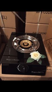 Single burner glass top gas stove cooktop brand new use with LPG gas