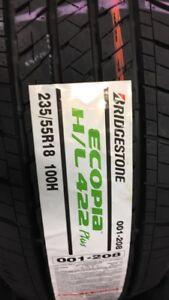 4 new Bridgestone Ecopias 235/55R18