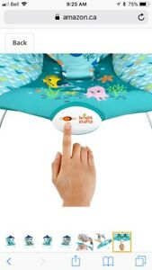 Disney's Finding Nemo vibrating bouncer/ chair
