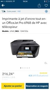 HP Deskjet 6968 scanner, copier, Fax & printer wireless