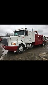 Heavy duty recovery truck with remote system in good condition