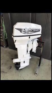50HP Johnson Outboard Motor