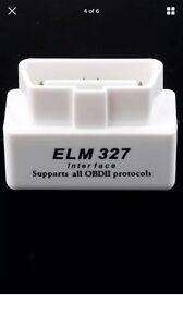 Mini ELM327 Interface Bluetooth OBD2 Scan Tool Mount Druitt Blacktown Area Preview