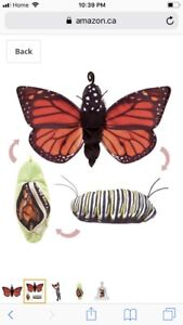 Reversible Butterfly Puppet