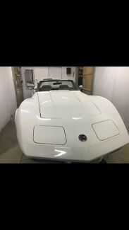 Corvette 1974  L82 chev GM American muscle unfinished project Adelaide CBD Adelaide City Preview