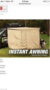 Ironman pull out awning for 4WD.  Including tent attachment Banyo Brisbane North East Preview