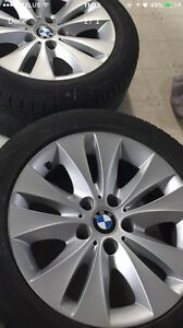 EXCELLENT BMW RIMS AND TIRES FOR SALE