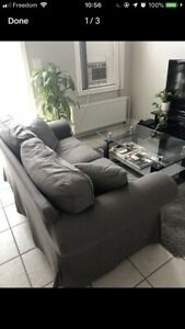 GREY COUCH FOR SALE $180 OBO