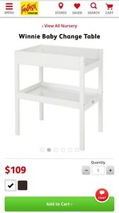 Baby change table Oakdowns Clarence Area Preview