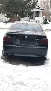 BMW 530i safety paper included