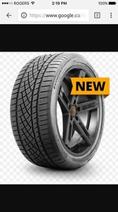 Continental Extreme Contact 285/35/19