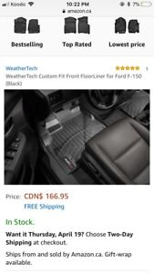 F150 Weather Tech Mats