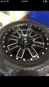 F-150 rims and tires package