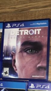 Detroit become human $55 and other ps4 games