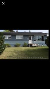 4 bedroom house fore rent North Battleford