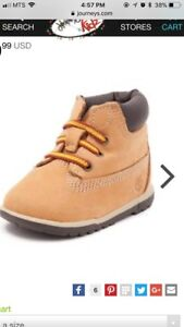 Wanted infant and toddler timberlands boots