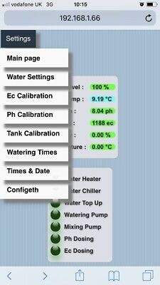 Wireless Watering Managment System