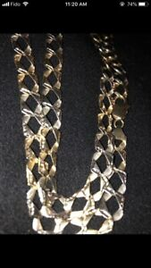 REAL GOLD 10KT CHAIN !! CHEAP PRICE !!