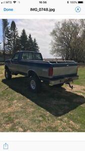 1995 F250 truck