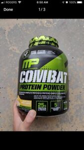 Combat/Assault Protein powder and prework out & Renee Tote Bag