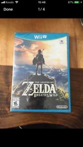 NEW SEALED The Legend of Zelda: Breath of the Wild - Wii U
