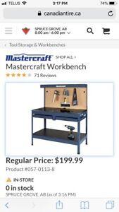Master craft work bench