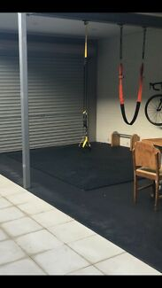 Gym rubber tiles/ mats