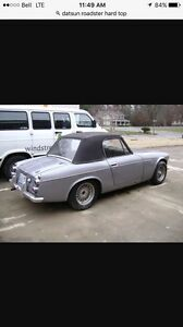 Wanted. Hard top for 69 Datsun Roadster.