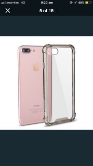 Transparent iPhone 6 Plus case.