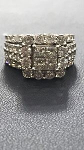 14kt 3ct + diamond engagement ring appraised over $15000