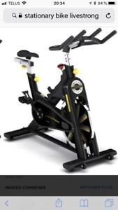 Velo stationnaire spinning Livestrong LS 9,9IC