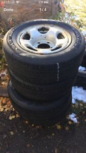265/60R16 good year viva tires and rims