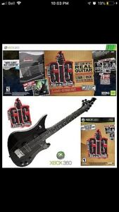 Power gig rise of the 6 string Xbox collectable game