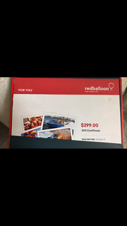 $299 Red Balloon Voucher