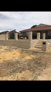 Limestone walls/ garden beds Doubleview Stirling Area Preview