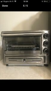 Toaster over with pizza drawer