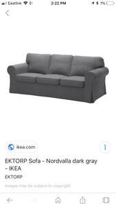 2 Ikea Ektorp sofa covers