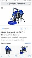 Graco paint sprayer. Used 5 times