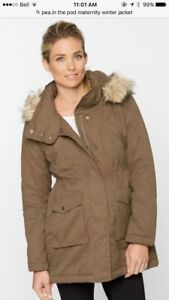 Pea in the pod maternity jacket