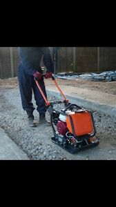 Walk behind Plate compactor for rent