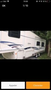 fifth wheel de marque citation  30.5 pieds