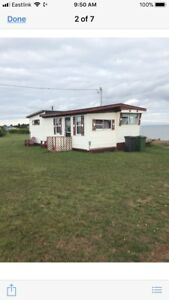 Cottage and building for sale
