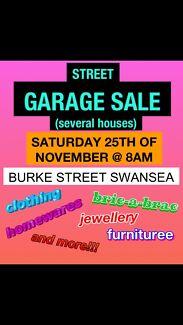 GARAGE SALE TODAY!