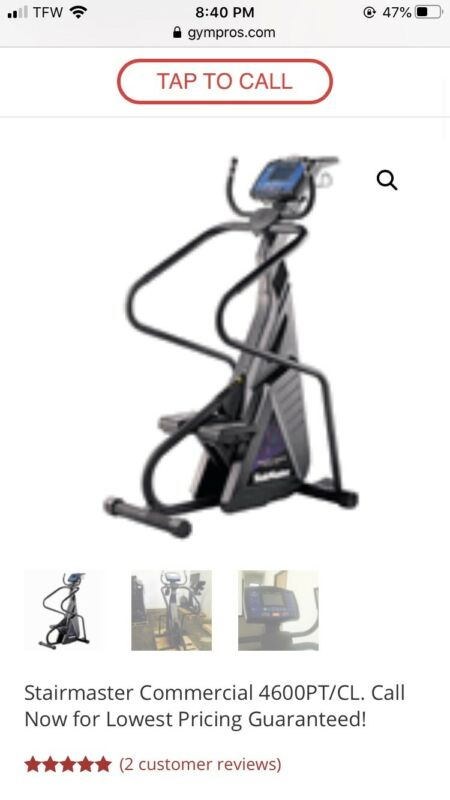 Free Climber Stairmaster 4600pt Cardio Machine
