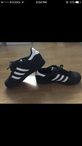 Black Adidas superstar mint condition